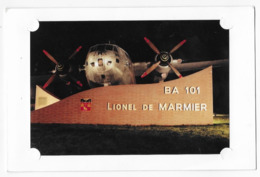 Toulouse Base Aérienne 101 Lionel De Marmier Carte 2 Volets - Aérodromes