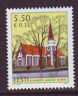 Estland 2007.St John`s Kanepi Church. MNH. Pf. - Estland