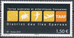 TAAF 2019 Logo Des îles Eparses Neuf ** - Terres Australes Et Antarctiques Françaises (TAAF)