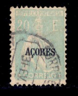 ! ! Azores - 1924 Ceres 20 E - Af. 219 - Used - Azores