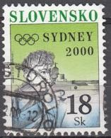 Slovensko 2000 Michel 372 O Cote (2009) 1.50 Euro Jeux Olympiques De Sydney Tir Sportif Cachet Rond - Oblitérés