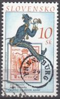 Slovensko 2000 Michel 369 O Cote (2009) 0.50 Euro 150 Ans Timbres-poste Cachet Rond - Oblitérés