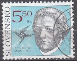 Slovensko 2000 Michel 367 O Cote (2009) 0.30 Euro Poète Ján Hollý Cachet Rond - Oblitérés