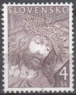 Slovensko 2000 Michel 364 O Cote (2009) 0.20 Euro Pâques La Sainte Couronne Cachet Rond - Oblitérés