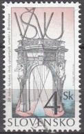 Slovensko 1999 Michel 347 O Cote (2009) 0.20 Euro 50 Ans Ecole De L'art Cachet Rond - Slovaquie