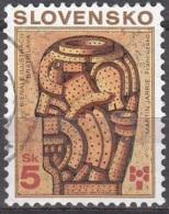 Slovensko 1999 Michel 346 O Cote (2009) 0.30 Euro Martin Jarrie Tête Imaginaire Cachet Rond - Slovaquie