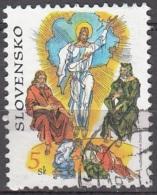 Slovensko 1999 Michel 340 O Cote (2009) 0.30 Euro Vincent Hložník La Transfiguration Cachet Rond - Slovaquie