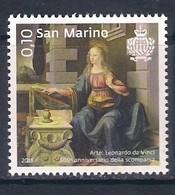 San Marino (2019) Leonardo Da Vinci (500th Anniversary Of Death) - Single Stamp (MNH) - Famous People
