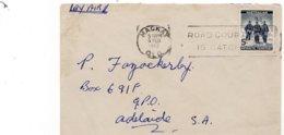 LSC 1962 - Cachet  MACKAY Sur Timbre Australian Antarctic Territory - Lettres & Documents