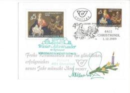 22482 - Christkindl 1989 Wiener Adventzauber Im Rathauspark 01.12.1989 - Noël
