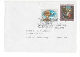 22483 - Christkindl 1988 Cover Pour Middelburg Nederland 31.12.1988 - Weihnachten