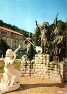 CPM 88 (Vosges) Domrémy-la-Pucelle - Statue De Sainte Jeanne D'Arc écoutant Les Voix, Par Allar TBE Bois-Chenu - Domremy La Pucelle