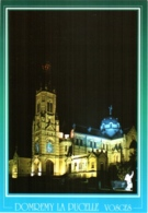 CPM 88 (Vosges) Domrémy-la-Pucelle - La Basilique Ste Jeanne D'Arc Du Bois-Chenu Illuminée TBE - Domremy La Pucelle