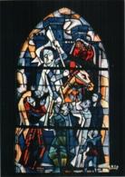 CPM 88 (Vosges) Domrémy-la-Pucelle - église Paroissiale. Vitrail De JP Gaudin : 3 Jeanne D'Arc à Orléans TBE - Domremy La Pucelle