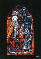 CPM 88 (Vosges) Domrémy-la-Pucelle - église Paroissiale. Vitrail De JP Gaudin : 6 Le Bûcher De Rouen TBE - Domremy La Pucelle