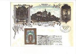 22487 - Christkindl 1995 Sur Carte Gruss Aus Christkindl Steyr 01.12.1995 - Noël