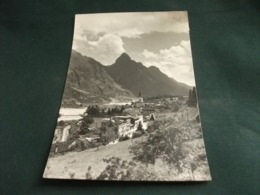 LONGARONE PANORAMA 1955 BINARI FERROVIA - Belluno