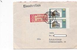 LSC 1982 - Recommandé Et Cachet  STOLBERG  Sur Timbre YT 2381 (x2) (Stentzlers Hof) - [6] République Démocratique