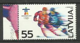 LATVIA  2010 VANCOUVER OLYMPICS SET MNH - Winter 2010: Vancouver