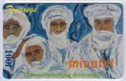 MINUTEL - DELTA MULTIMEDIA - Touaregs - 100 F - Rare Avec Code - Code Gratté - Voir Scans - France