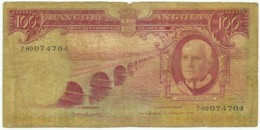 Angola - 100 Escudos - 10.06.1962 - Pick 94 - Série 7 HO - Américo Tomás - PORTUGAL - Angola