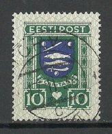 Estland Estonia 1936 CARITAS Michel 109 O TÕRVA - Estland
