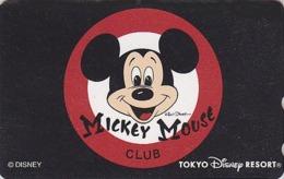 Télécarte NEUVE Japon / MF-1002654 - DISNEY RESORT - MICKEY MOUSE Japan MINT Phonecard - Disney