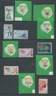 Sierra Leone 1965 (April) Decimal Surcharges Part Set Of 13 To 2L Fresh MLH - Sierra Leone (1961-...)