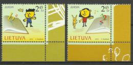 LITHUANIA  2010  EUROPA  CHILDRENS BOOKS MNH - Europa-CEPT