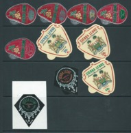 Sierra Leone 1965 Self Adhesives With Advertising Set 10 Fine MLH - Sierra Leone (1961-...)