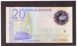 Maroc. Billet De 20 Dh Commémorant Le 20ème Anniversaire De SM Le Roi Mohamed VI. En Polymère. - Marokko