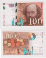 FRANCE : 100 Francs CEZANNE . 1997. Q 021722516 - 1992-2000 Last Series