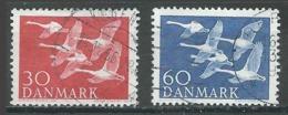 Danemark YT N°372/373 Norden 56 Oblitéré ° - Denmark