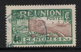 Réunion - Yvert 91 Oblitéré PITON ST-LEU En BLEU- Scott#79 - Used Stamps