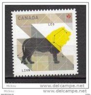 Canada, MNG, Lion, Félin, Leo, Astrologie, Zodiaque, Astrology, Zodiac - Big Cats (cats Of Prey)
