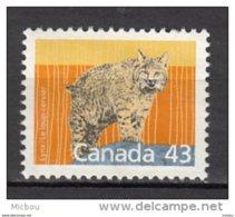 Canada, MNG, Lynx, Loup-cervier, Félin, Wildcat - Big Cats (cats Of Prey)