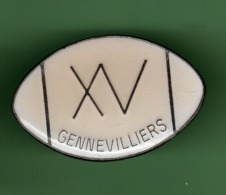 RUGBY *** GENNEVILLIERS *** 1061 (122) - Rugby