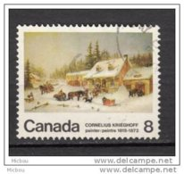 Canada, Cheval, Traîneau, Chien, Horse, Sledge, Dog - Horses