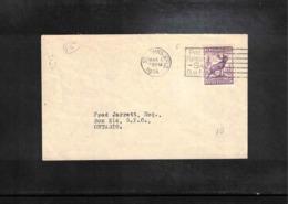 Newfoundland 1934 Interesting Letter - 1908-1947