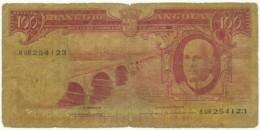 Angola - 100 Escudos - 10.06.1962 - Pick 94 - Série 8 UR - Américo Tomás - PORTUGAL - Angola