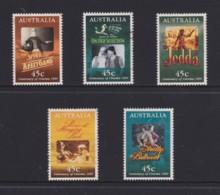 Australia 1995 Centenary Of Cinema Set Of 5 Used - 1990-99 Elizabeth II