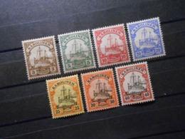 D.R.Mi 7**MNH/ 8 -13*MLH -  Deutsche Kolonien (Karolinen) - 1900 - Mi 6,50 € - Colony: Caroline Islands