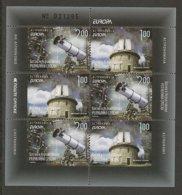 """BOSNIA HERZ. SERBIA /SRPSKA REP.   - EUROPA 2009 - TEMA """"ASTRONOMIA"""" - HOJITA BLOQUE De TRES SERIES Del CARNET - Europa-CEPT"""