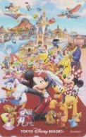 TC NEUVE Japon - DISNEY RESORT - Aladdin Elephant Dumbo Sirène Mermaid Pinocchio Snow White Etc - Japan MINT Phonecard - Disney