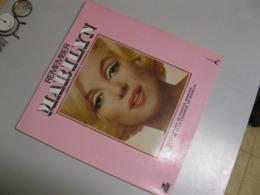 """VINYLE """"REMEMBER MARILYN"""" 33 T AVEC ALBUM PHOTO 12 PAGES ET INTRODUCTION(ANGLAIS /FRANCAIS) - Vinyl Records"""