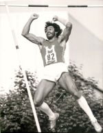 OLYMPIC GAMES MÜNCHEN JEUX OLYMPIQUES MUNICH 1972 SIGI WENTZ MAINZ ZEHMKAMPF TITELKÄMPFEN SAUT EN HAUTEUR - Sport