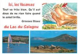 LE LAC DU SALAGOU Pres De Clermont L Herault Et De Lodeve 6(scan Recto-verso) MC2466 - Other Municipalities