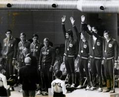 OLYMPIC GAMES MÜNCHEN JEUX OLYMPIQUES MUNICH 1972 U.S. SWIMMING MARK SPITZ - Sports
