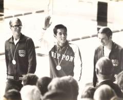 OLYMPIC GAMES MÜNCHEN JEUX OLYMPIQUES MUNICH 1972 100M BREAST GOLD MEDAL TAGUCHI HENCKEN TOM BRUCE - Deportes