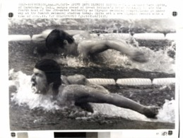 OLYMPIC GAMES MÜNCHEN JEUX OLYMPIQUES MUNICH 1972 SWIMMER MARK SPITZ NATATION - Sport